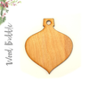 Wood Christmas Ornaments Bubble (Package.Price)