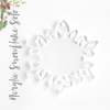 Acrylic Christmas Ornaments Snowflake (Package.Price)