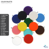 Acrylic Circle Colors (Package.Price)