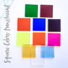 Acrylic Square Translucent Colors (Package.Price)