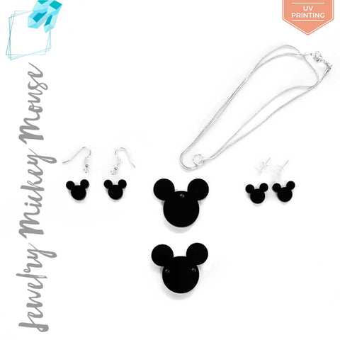 UV Printing Acrylic Jewelry Mickey Mouse