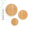 "Wood Circles 1/8"" Thick  (Package.Price)"