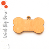 Wood Keychain Dog Bone Soto (Package.Price)