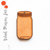 Wood Keychain Mason Jar Soto (Package.Price)