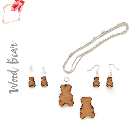 Wood Jewelry Bear (Package.Price)