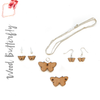 Wood Jewelry Butterfly (Package.Price)