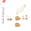 Wood Jewelry Elephant (Package.Price)