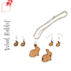 Wood Jewelry Rabbit (Package.Price)