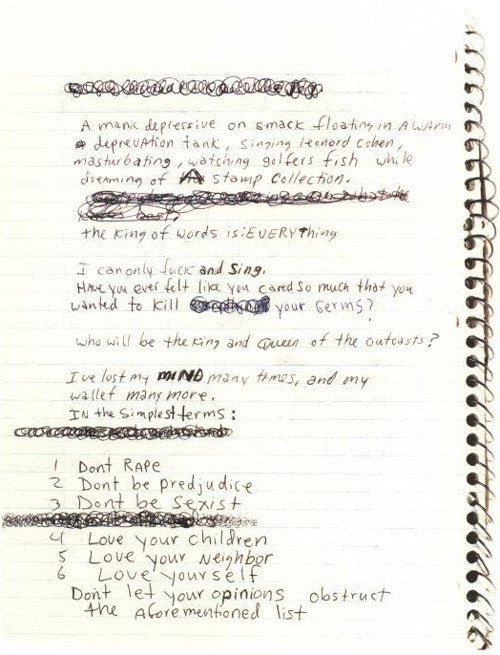 Inside the Notebooks of Artists, Writers, and Creators