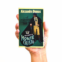 Count of Monte Cristo pocket notebook in hand from manuscript notebooks
