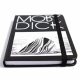 moby dick hardcover notebook below angle from manuscript notebooks