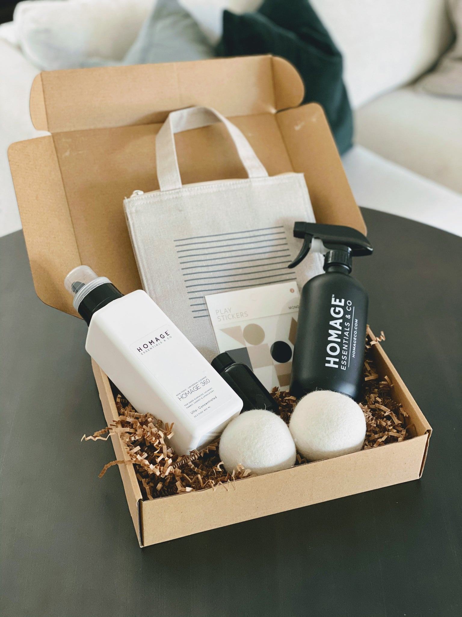 Homage Essentials Subscription Box
