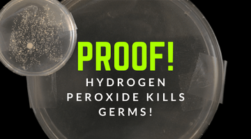 Hydrogen Peroxide Cleaning Experiment | Does Hydrogen Peroxide REALLY Clean?