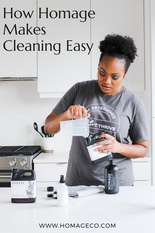How Homage Makes Cleaning Easy www.homageco.com