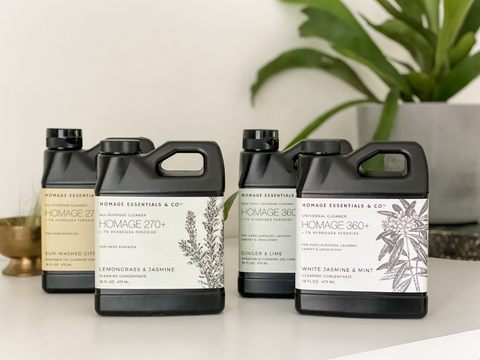Have you wondered how much you can clean with our cleaning concentrates? Here's the answer www.homageco.com