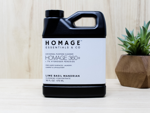We know you'll love the results you get when you clean with Homage. www.homageco.com