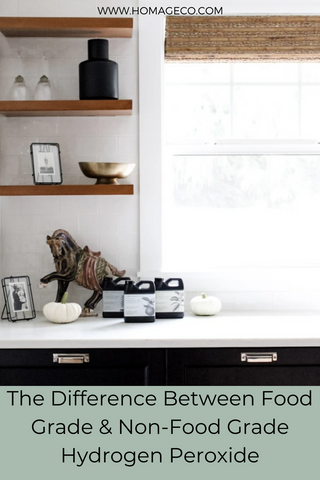 The Difference between Food Grade and Non Food Grade Hydrogen Peroxide. www.homageco.com