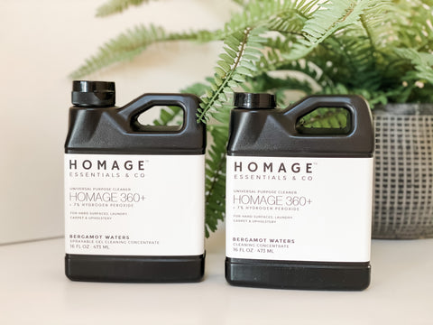 Homage Essentials Hydrogen Peroxide Cleaners