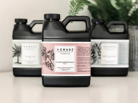Hydrogen Peroxide Cleaning products - Homage Essentials & Co - Homageco.com