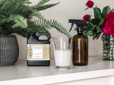 How to use cleaning concentrates non-toxic cleaning products