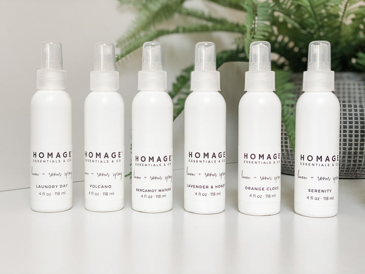Linen + Room Spray Set of 6 - Homage Essentials & Co