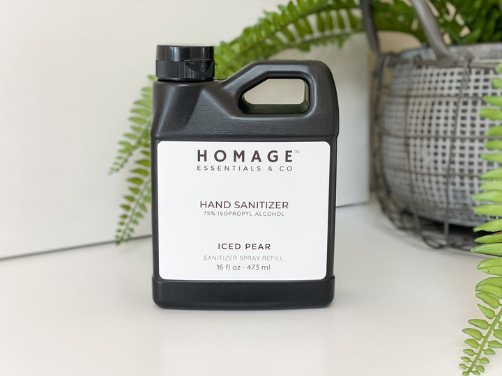 75% Alcohol Hand Sanitizer Refill 16 oz - Homage Essentials & Co