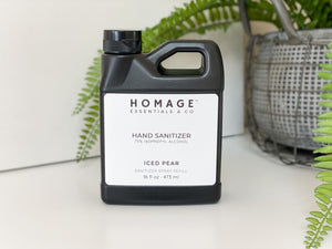 75 % Alcohol Hand Sanitizer Spray (Various Sizes & Scents) - Homage Essentials & Co