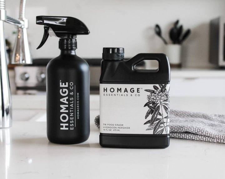 7% Food Grade Hydrogen Peroxide - Homage Essentials & Co