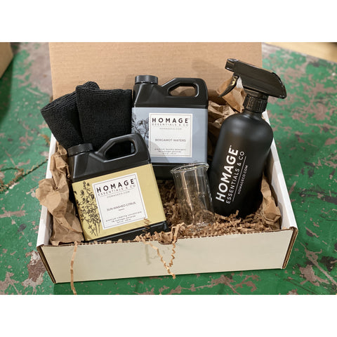 Homage Essentials Cleaning & Laundry Gift Bundle