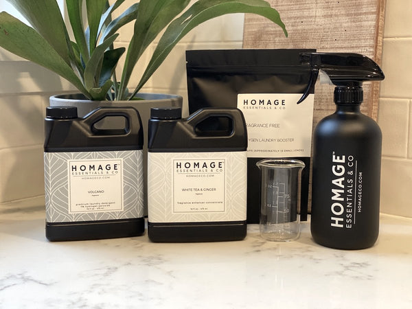 Homage Essentials Laundry Complete Bundle