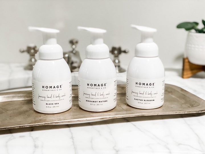 Foaming Hand & Body Wash - Set of 3 - Homage Essentials & Co
