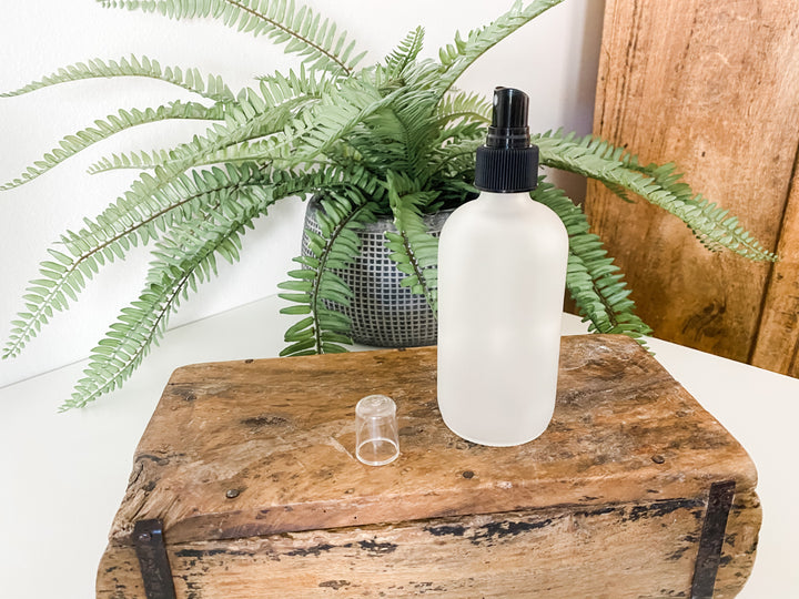 Reusable Glass Spray Bottle 8 oz - Homage Essentials & Co