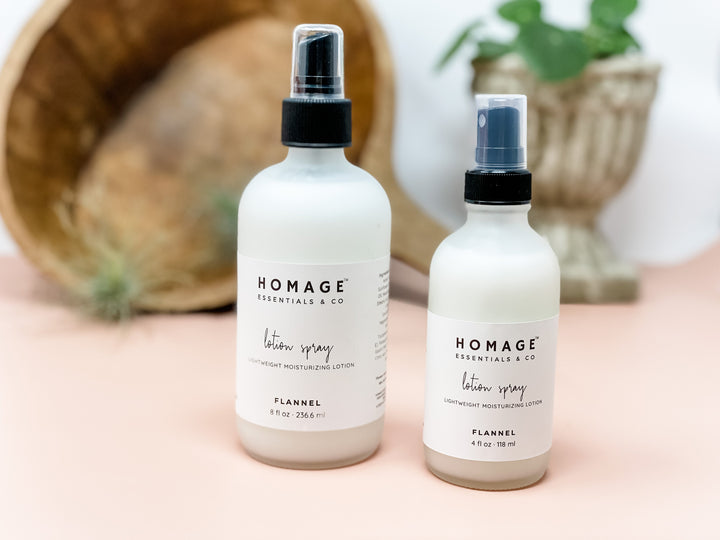 Goat's Milk Lotion Spray - Homage Essentials & Co