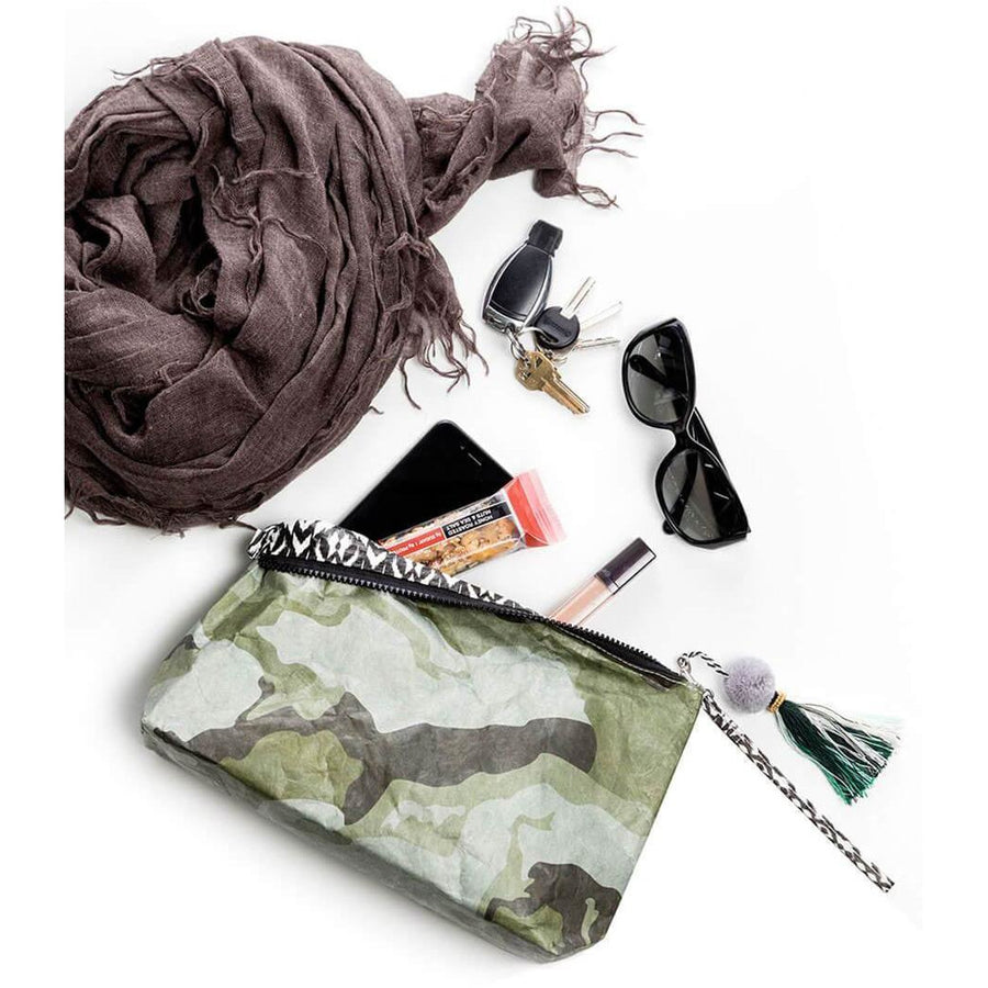 Olive U-tility Reversible Pouch - Homage Essentials & Co