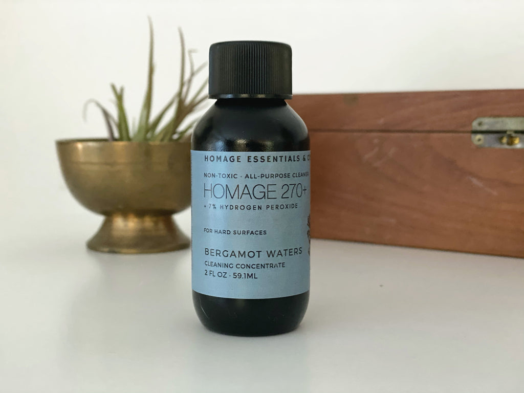7% Hydrogen Peroxide All-Purpose Cleaning Concentrate 2oz - Trial Size - Homage Essentials & Co
