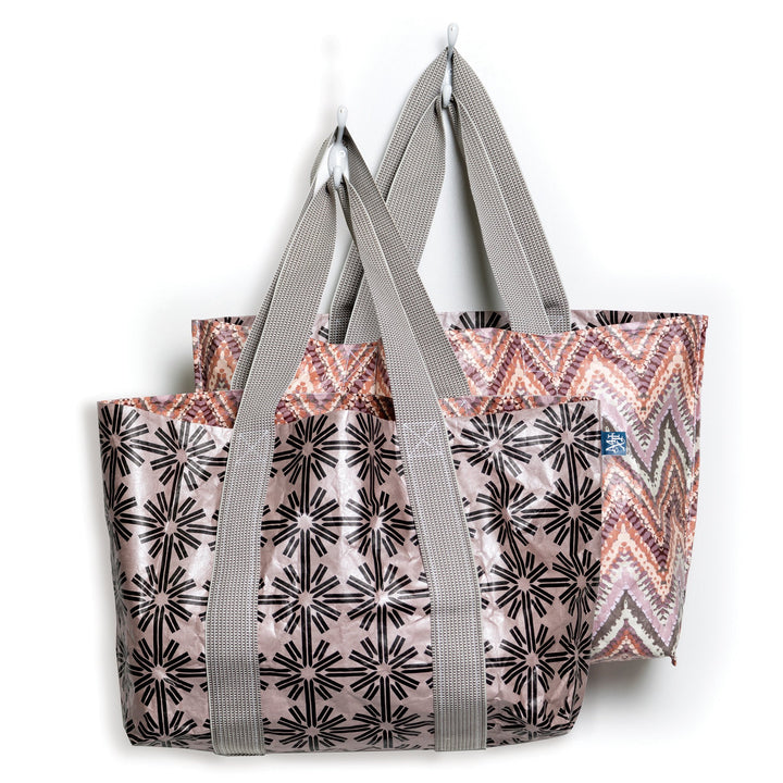 Tonga Metallic Reversible Tote Bag - Homage Essentials & Co