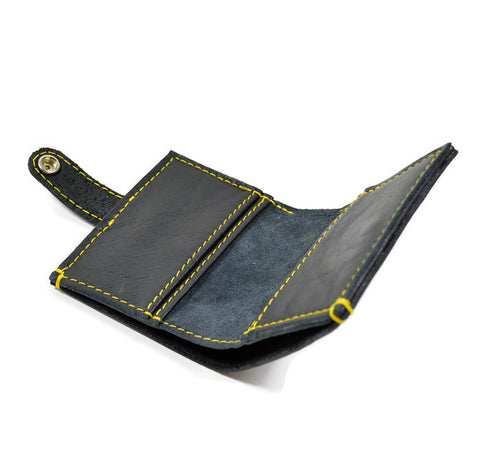 eb51d865fad Dr Martens Inspired Leather Bi Fold Wallet.