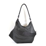 leather biker hobo bag - delacyonline - 3