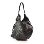 leather biker hobo bag - delacyonline - 5