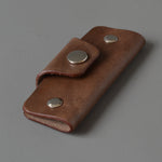 Ruler & Case, Mahogany