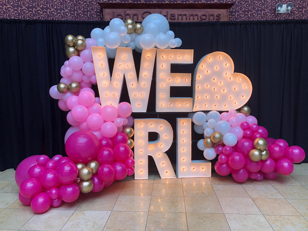 Rhea Lana Balloon Garland