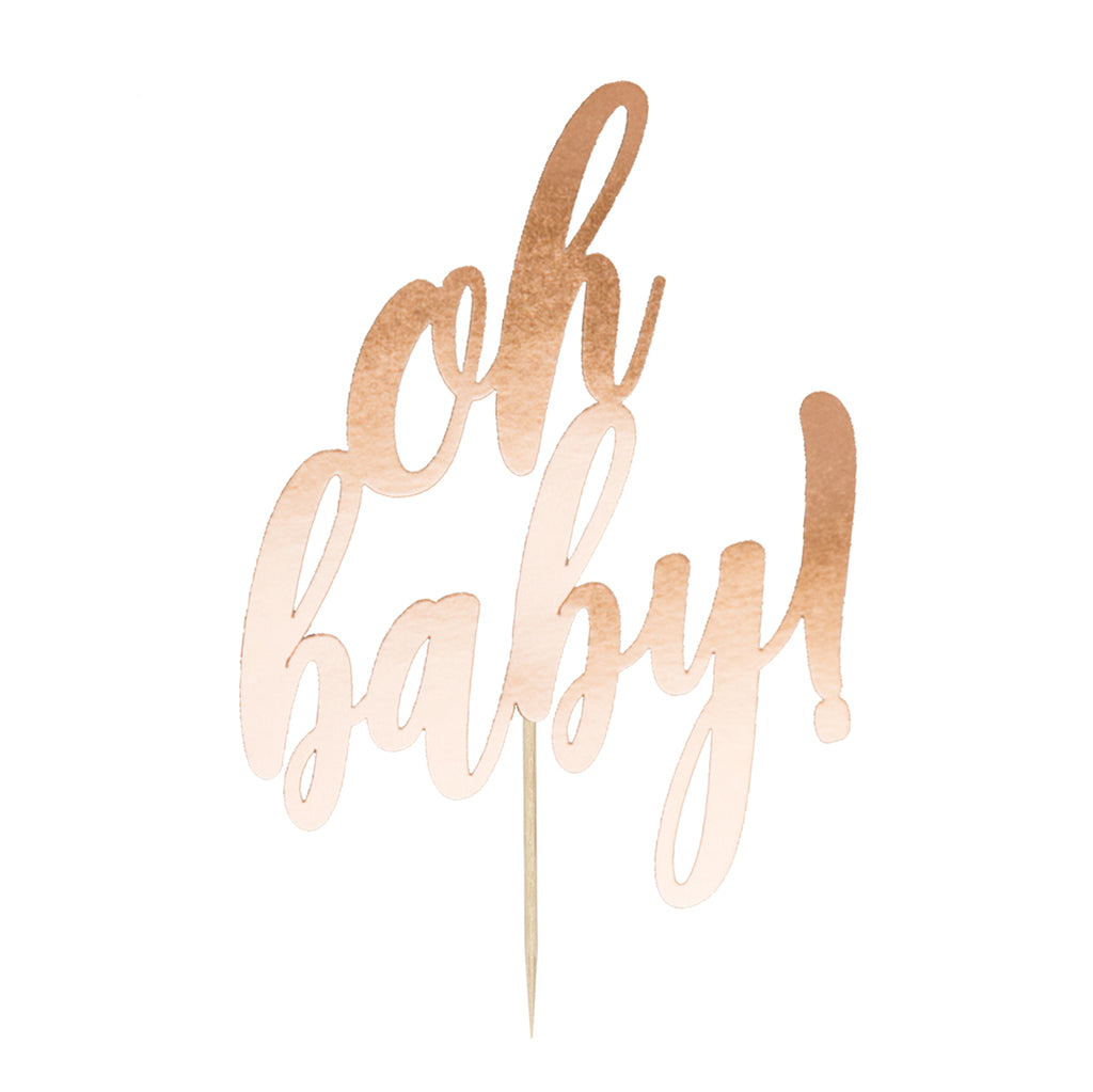 Oh Baby! Cake Topper