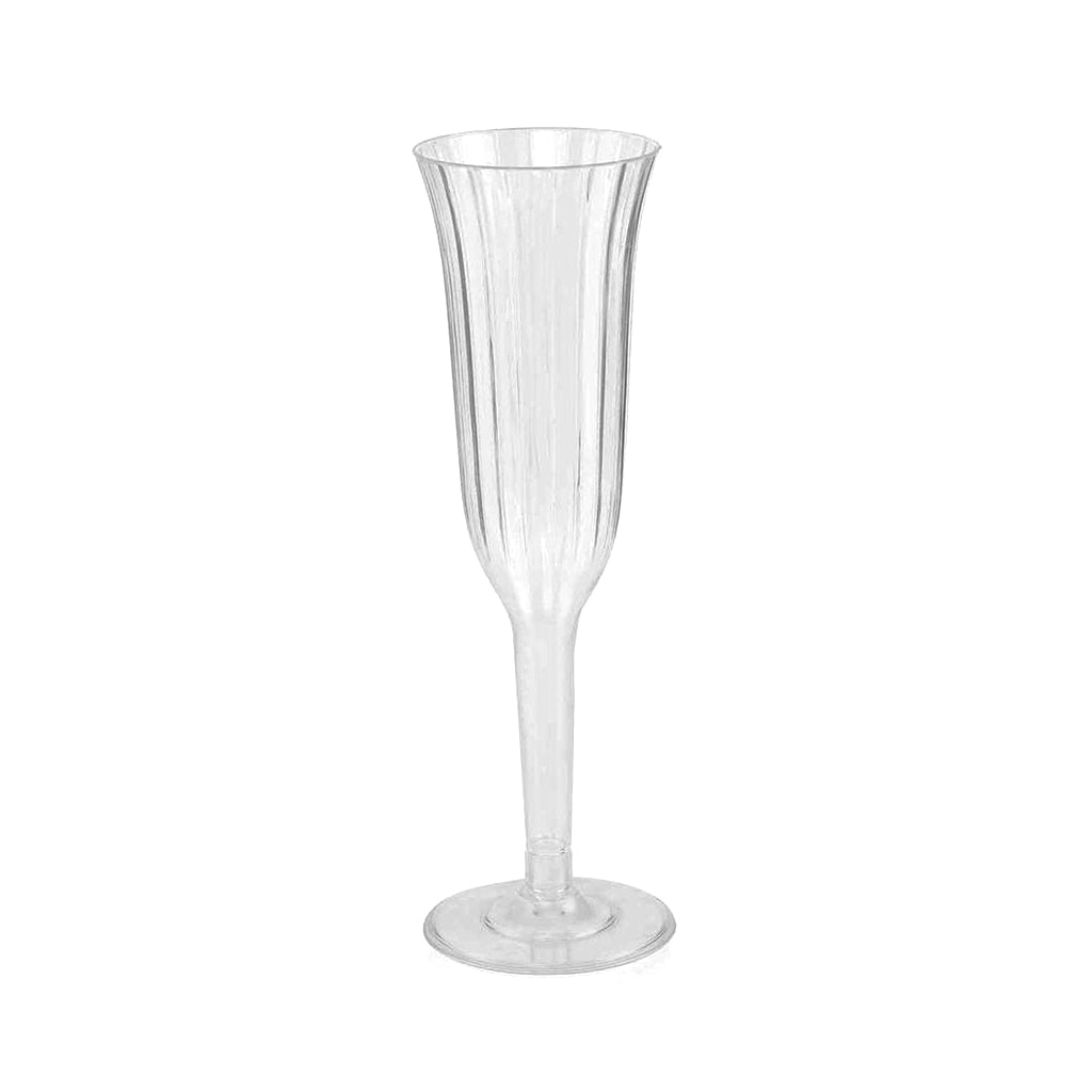 Champagne Flutes - Textured