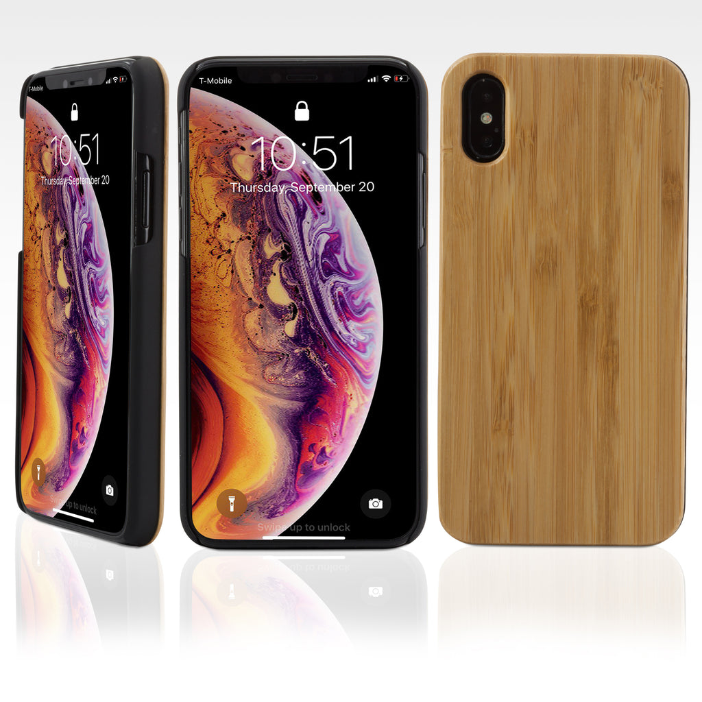 True Bamboo Minimus Case - Apple iPhone XS Case