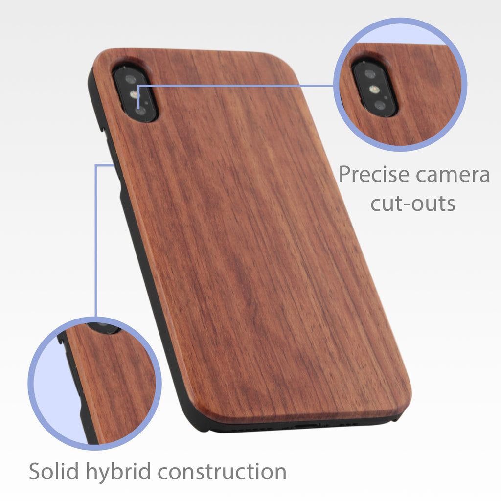 True Wood Minimus Case - Apple iPhone XS Case
