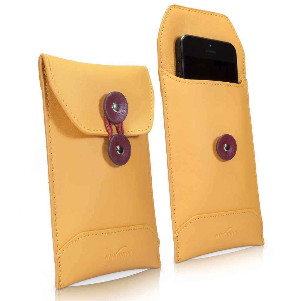 Manila Leather Envelope - Apple iPhone 5 Case