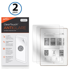 ClearTouch Anti-Glare (2-Pack) - Barnes & Noble Nook GlowLight Plus Screen Protector
