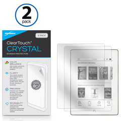 ClearTouch Crystal (2-Pack) - Barnes & Noble Nook GlowLight Plus Screen Protector
