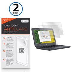 ClearTouch Anti-Glare (2-Pack) - Acer Chromebook 11 N7 (C731) Screen Protector