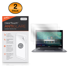 ClearTouch Anti-Glare (2-Pack) - Acer Chromebook Spin 15 (CP315) Screen Protector